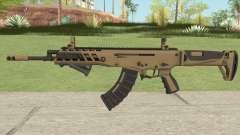 Warface AK-Alfa Gold (With Grip)