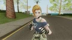 Creative Destruction - Female Soldier pour GTA San Andreas