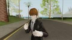Light Yagami Skin V2 (Death Note) pour GTA San Andreas