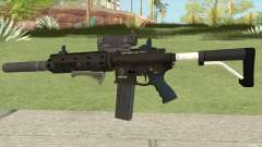 Carbine Rifle Silenced GTA V