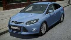 Ford Focus 3 Sedan pour GTA 4