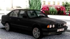 BMW 525i E34 1992 Black Classic pour GTA San Andreas