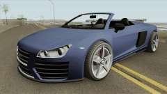 9F Cabrio V1 GTA V pour GTA San Andreas