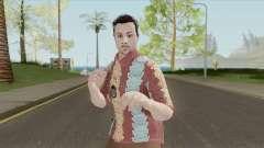 GTA Online Random Skin 29 (IAA Agent Summerwear) für GTA San Andreas