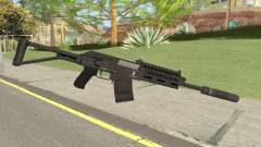 Heavy Shotgun Silenced GTA V
