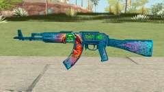 Warface AK-103 (Evil Santa)