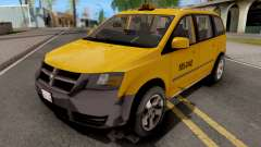 Dodge Grand Caravan Taxi für GTA San Andreas