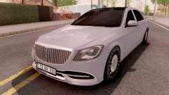 Mercedes-Maybach S-Class W222 pour GTA San Andreas