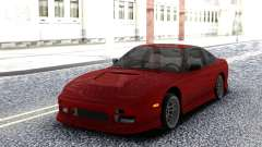 Nissan 240SX Red Coupe für GTA San Andreas