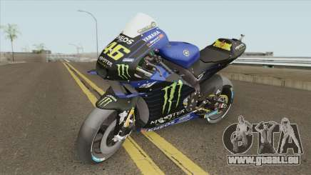 Yamaha YZR-M1 2019 Valentino Rossi pour GTA San Andreas