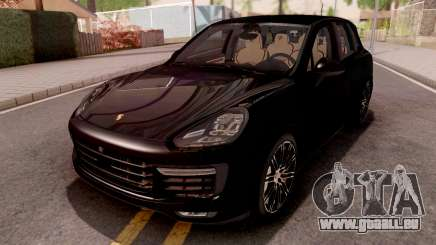 Porsche Cayenne Turbo S Black pour GTA San Andreas