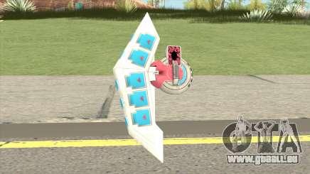Duel Disk Yugioh Weapon pour GTA San Andreas