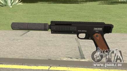 AP Pistol Silenced GTA V für GTA San Andreas