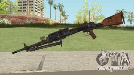 COD WW2 - Breda 30 MG V1 für GTA San Andreas