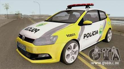 Volkswagen Polo PMPR pour GTA San Andreas