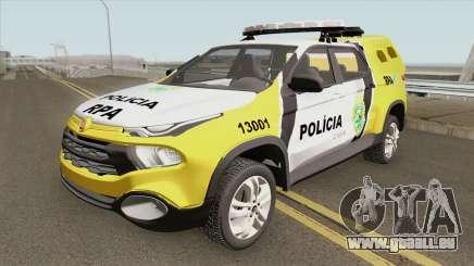 Fiat Toro (Policia Militar) pour GTA San Andreas