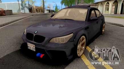 BMW M5 E60 Violet pour GTA San Andreas