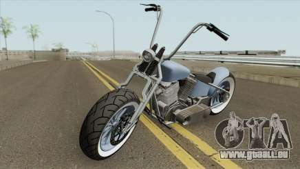 Zombie Bobber GTA V (Metal Claro) pour GTA San Andreas