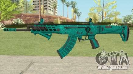 Warface AK-Alfa Absolute (With Grip) pour GTA San Andreas