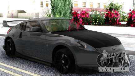 Nissan 370z Grey pour GTA San Andreas