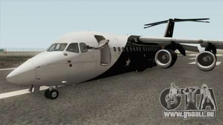 Avro RJ85 (Titan Airways Livery) für GTA San Andreas