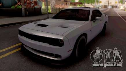 Dodge Challenger Hellcact Lowpoly für GTA San Andreas