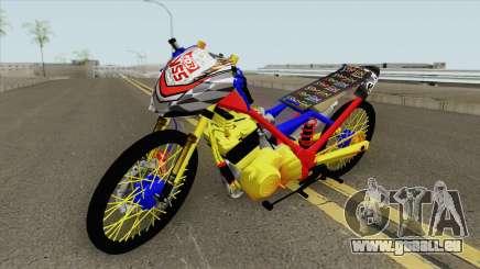 Satria FU Drag New pour GTA San Andreas