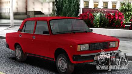 VAZ 2105 Berline Rouge pour GTA San Andreas