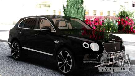Bentley Black Bentayga pour GTA San Andreas