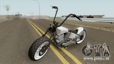 Zombie Bobber GTA V (Metal Oscuro) pour GTA San Andreas