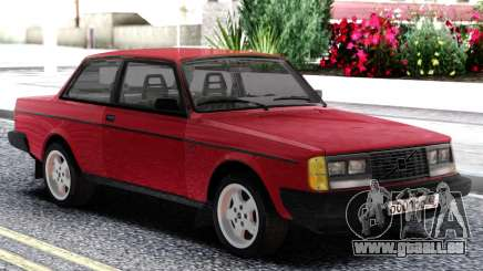Volvo 242 Intercooler Turbo Red pour GTA San Andreas