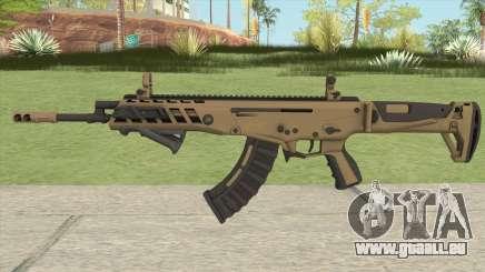 Warface AK-Alfa Gold (With Grip) pour GTA San Andreas
