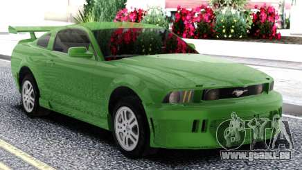 Ford Mustang GT Green pour GTA San Andreas