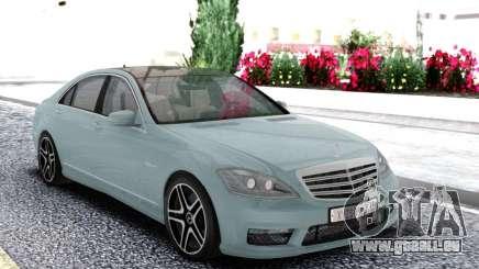 Mercedes-Benz S65 W221 Sedan für GTA San Andreas