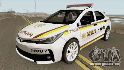 Toyota Corolla 2017 Brigada Militar pour GTA San Andreas