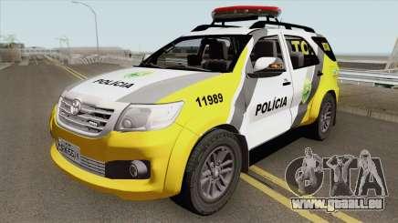 Toyota Hilux SW4 2014 ROTAM PR pour GTA San Andreas