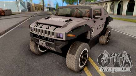 Transformers ROTF Nest Car pour GTA San Andreas