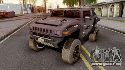 Transformers Nest Car Version 2 pour GTA San Andreas