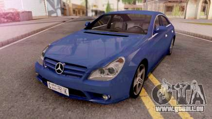 Mercedes-Benz CLS 63 Lowpoly pour GTA San Andreas