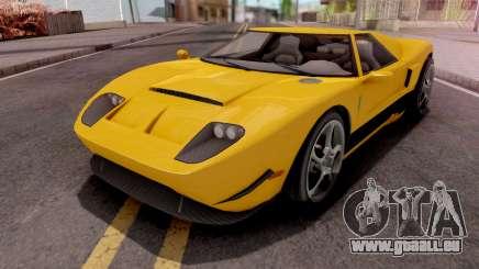 GTA V Vapid Bullet GT pour GTA San Andreas