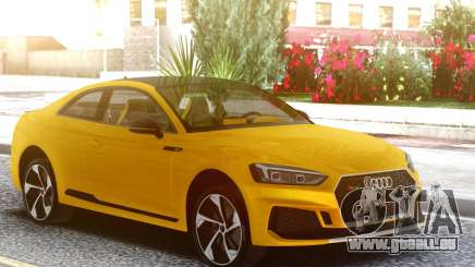 Audi RS5 Yellow pour GTA San Andreas