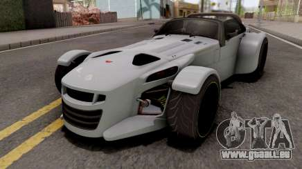 Donkervoort D8 GTO Grey pour GTA San Andreas