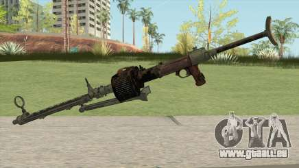 COD WW2 - MG-15 Anti-Aircraft MG (Extended) pour GTA San Andreas