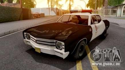 Declasse Tulip Police Car LAPD pour GTA San Andreas
