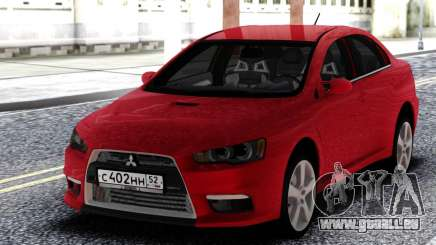 Mitsubishi Red Lancer 10 für GTA San Andreas