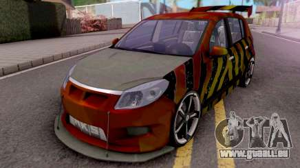 Dacia Sandero Modified pour GTA San Andreas