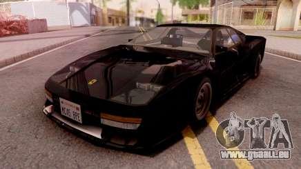 Ferrari Testarossa Custom Black pour GTA San Andreas