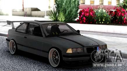 BMW E36 Grey pour GTA San Andreas