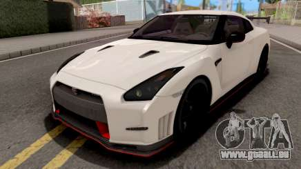 Nissan GT-R Nismo White pour GTA San Andreas