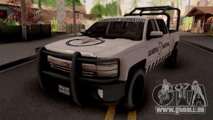 Chevrolet Cheyenne 2016 Guardia Nacional pour GTA San Andreas